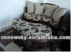 RATTAN SOFA LEISURE FURNITURE LEISURE SOFA CHAISE LOUNGE