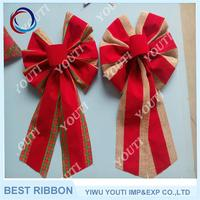 New arrival christmas decoration bow gift ribbon bow