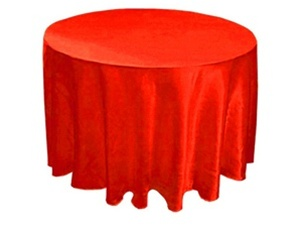 90 inches Round Tablecloths for Wedding and Party Decorations
