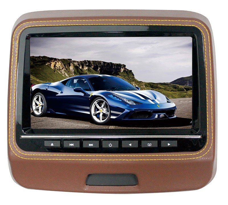 9 inch universal car headrest monitor dvd player