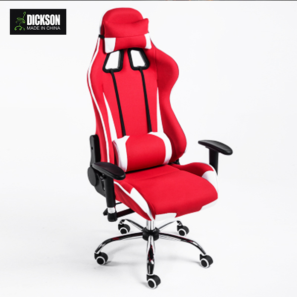 Dickson Great Experience Performance Cardinal Red gaming office chair racing