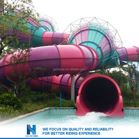 2016 New arrvail fiberglass water slide tube for sale wholesale