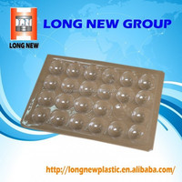 E profession design customized plastic blister tray