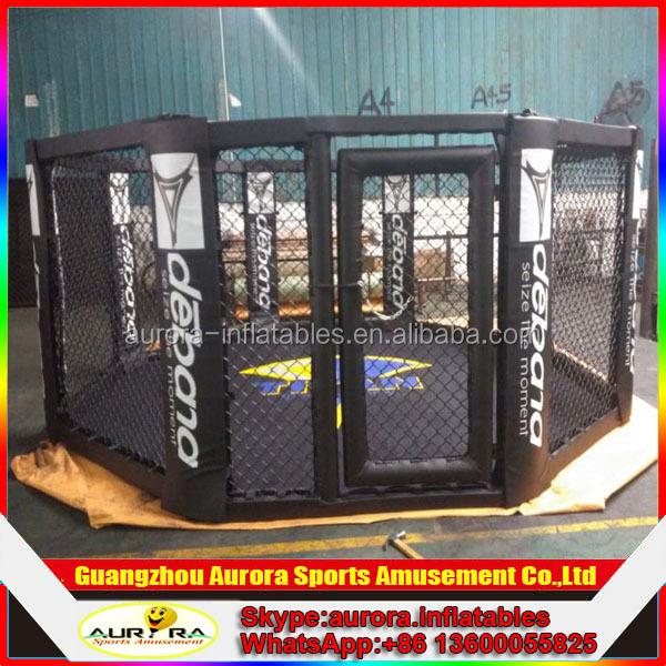 2016 best popular training floor MMA cage for boxing club