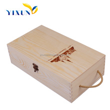 Customized lightweight wine wood boxes