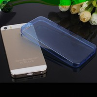 Alibaba Supplier Ultratin 0.3mm Clear TPU Case For Iphone 5S 5