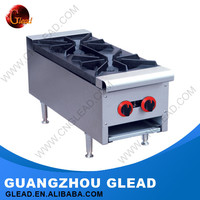 GZ Glead Professional Electric Table Top 2 Burner Gas Stove Top