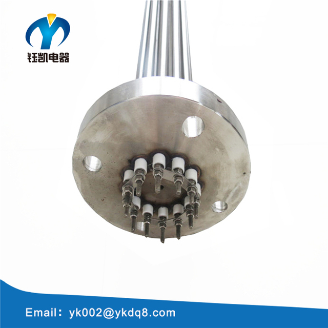 all kinds of customized industrial flange immersion tubular heaters