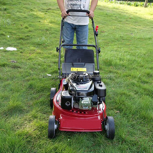 Self Propelled Gasoline Lawn Mower with Poly Deck/Hand Push Steel Deck 56cm 22'' Gasoline LawnMower