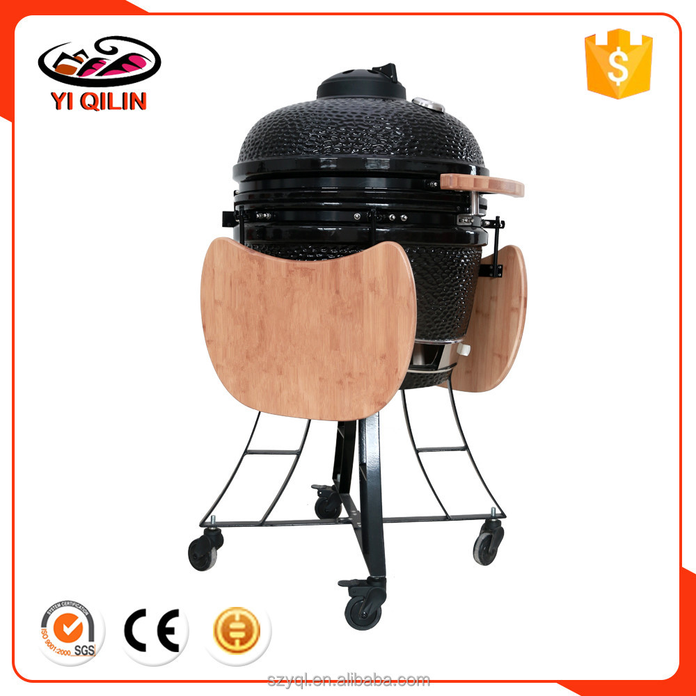 Ceramic Outdoor Kitchen Appliance Kamado BBQ Islands
