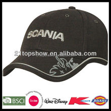 EMBROIDERED BLACK WHOLESALE PROMOTION HAT AND CAP