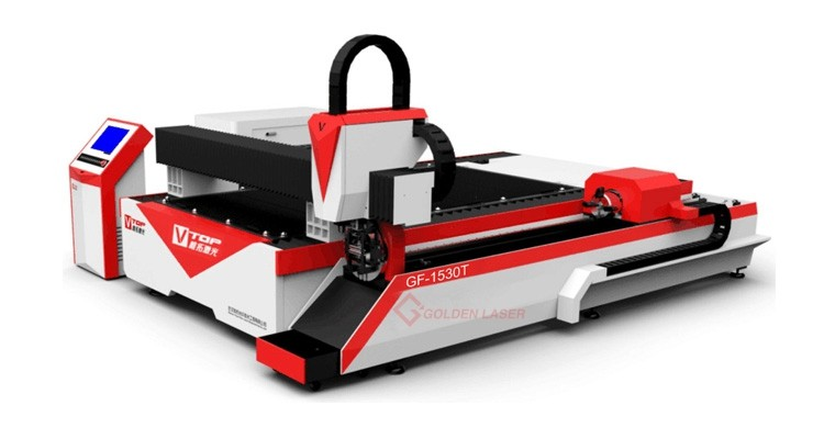 GF-1530T metal sheet and pipe laser cutter 750