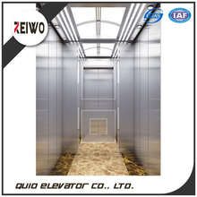 Humanized design cheap simple passenger elevator lift with machine