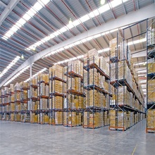 Heavy Duty Steel Warehouse Pallet Racking For Industrial Factory Storage Solutions