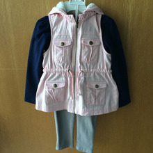 Girls' set with T-shirt\vest and pant