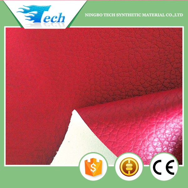 Elastic and soft no dmf pu synthetic leather motorcycle jacket leather material for clothes