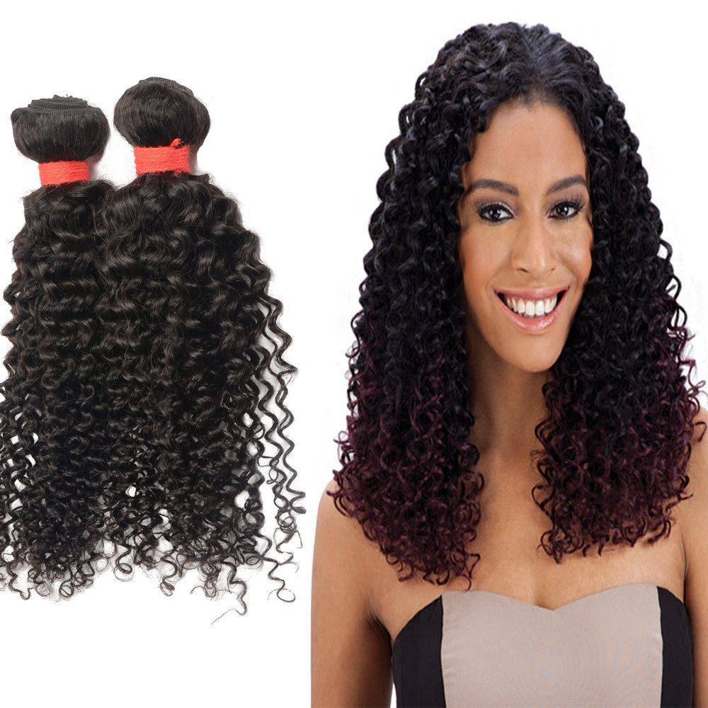6A Grade Top Quality Remy Afro Kinky Curl Weave, Virgin Brazilian Kinky Curly Hair