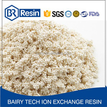 Drinking water 117FD treatment cation ion exchange resin manufacturer