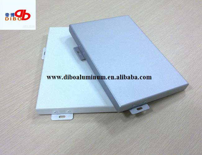 Fantastic design PVDF coated aluminum solid roof panel 3mm
