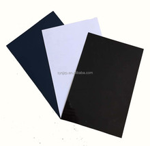 opaque rigid vingl black hard plastic sheet