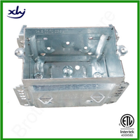 2304 series cETL approved Canadian standard utility box galvanized metal box