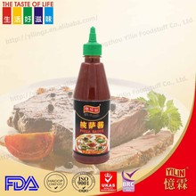 classical packing 435ml pizza sauce for supermarket retail and wholesale