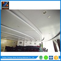 Hot Selling Perforated Aluminum Types Of Ceiling Finishes