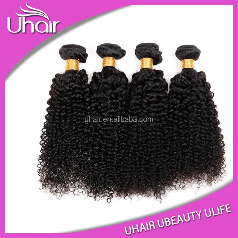 Alibaba Top Quality Direct Factory Wholesale Brazilian Hair 100% Virgin 4c Afro Kinky Curly Human Hair Weave