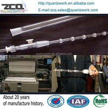 100mm OD Quartz Connection Ware For Furnace