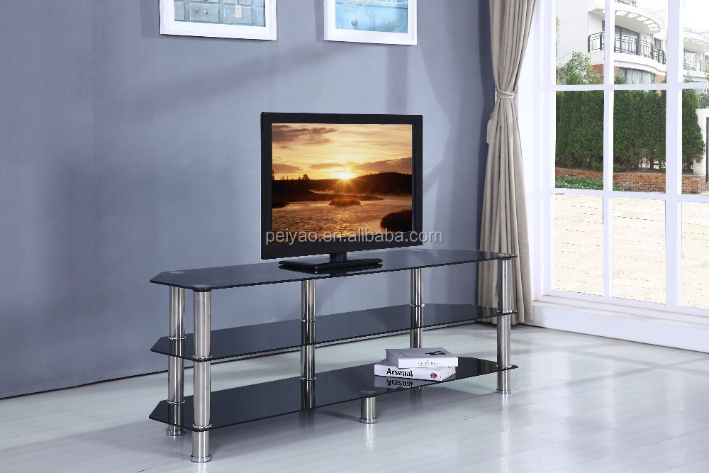New Model Glass Television Stand Hanging Tv Stand Tv