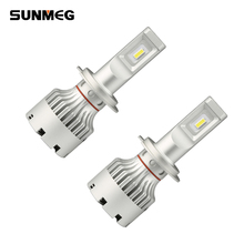 Plug and play 9005 hb3 car led light bulbs all in one fanless car lights 3000K 6500K 8000K
