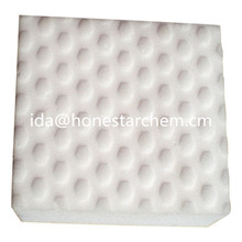 Pure White Compressed Magic Eraser Sponge Melamine Sponge