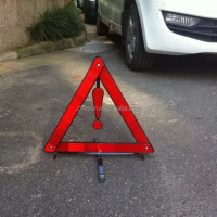 Car Safety Warning Reflective Triangle for Korea and Middle East Asia