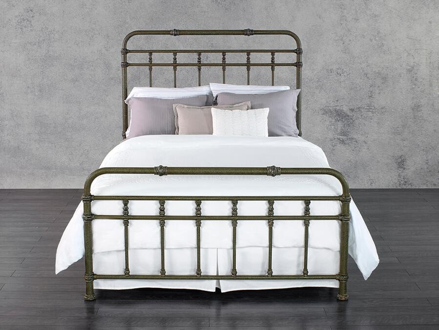 simple iron bed for 2016