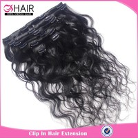 High quality 30 inch hair extensions clip in for black women
