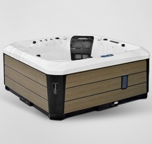 new hot tub outdoor spa 5 person portable hydrotherapy bathtub