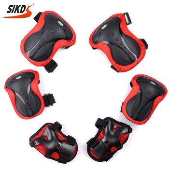 Wholesale skateboard Protective gear knee pads elbow pads 6pcs set skateboard pads