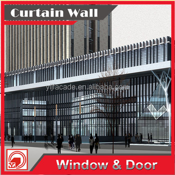 Reliable construction partner Aluminium Composite Panel Cladding Curtain wall