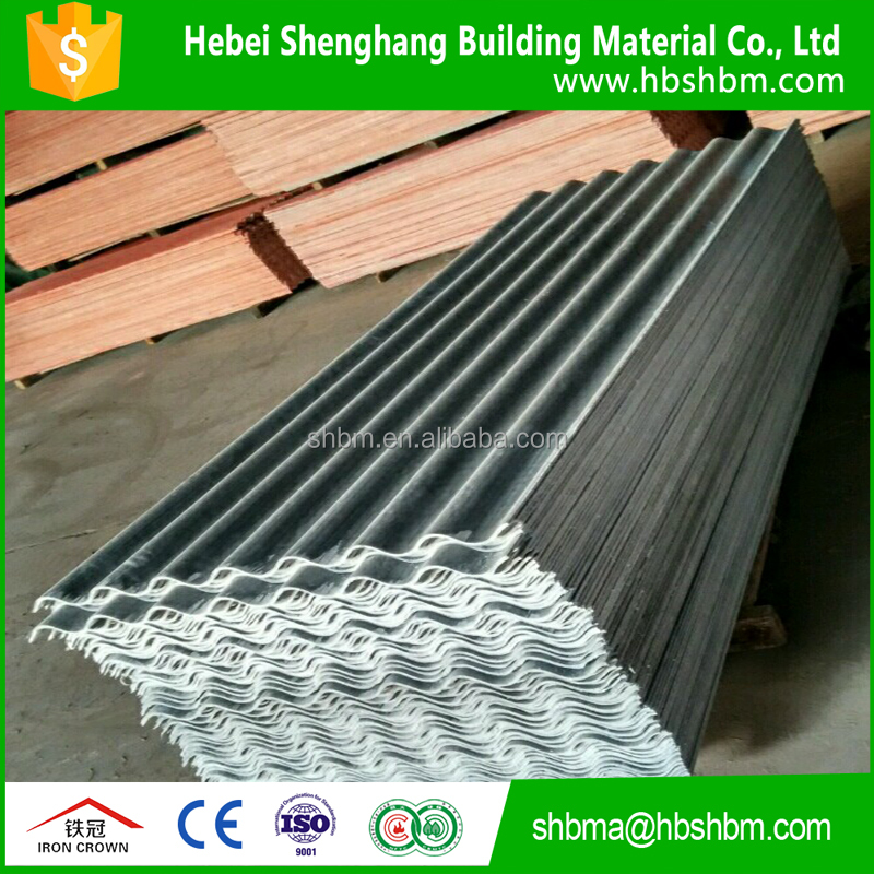 non-asbestos pantile of mgo high strength middle density low price anti-corrosion insulating magnesium oxide roofing sheet