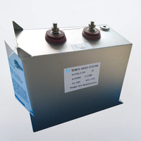 High voltage capacitor locomotive pulse capacitor