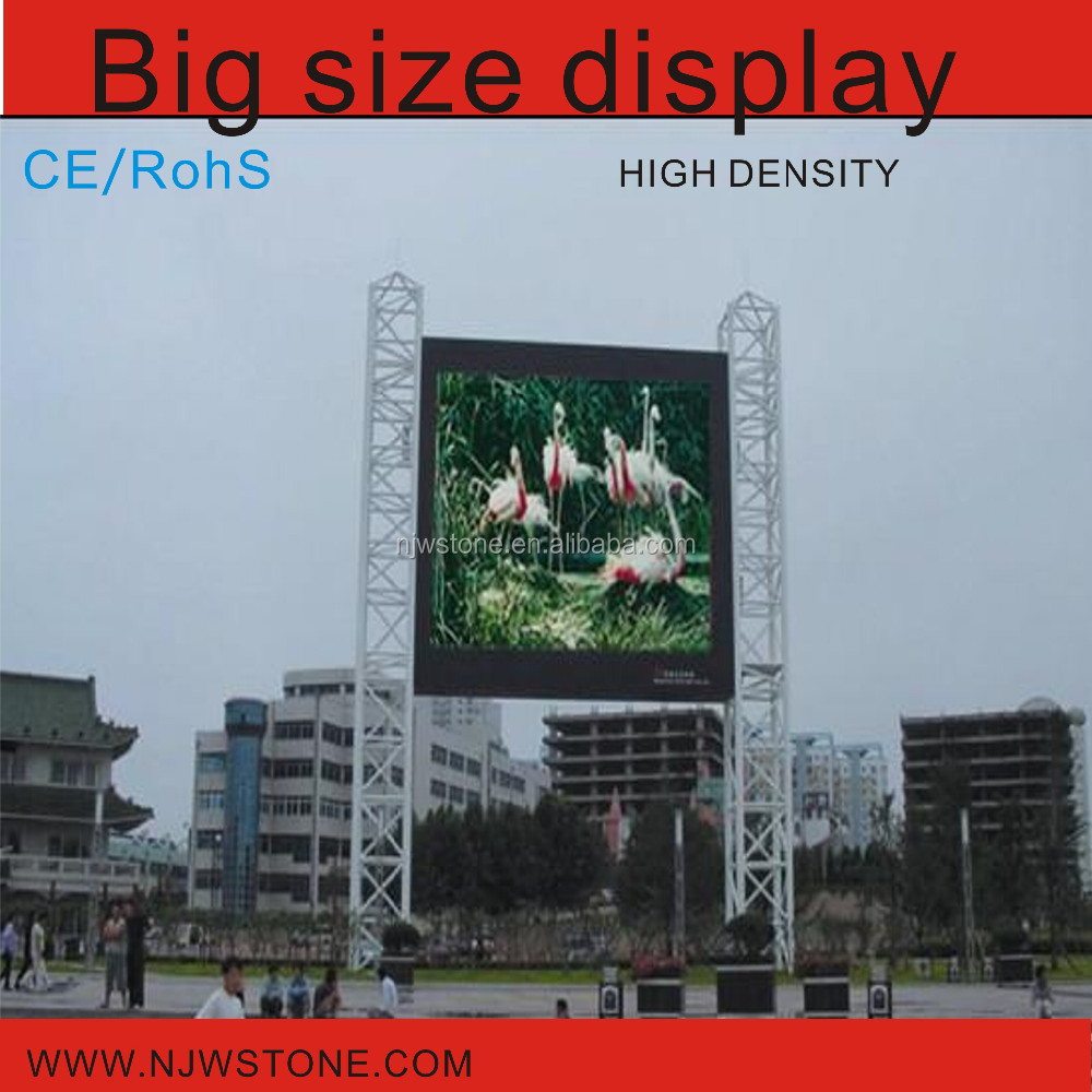 vedio / text/photos and 3G Led outdoor display P10