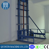 Single column platform lift / Guide Rail Hydraulic Lifting Equipment