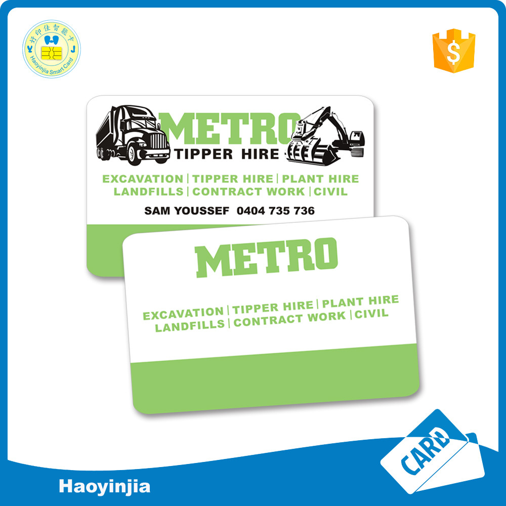 Good Quality Plastic Business Card Photo id Card Online