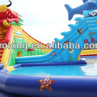 Commercial Giant Inflatable Water Park From