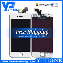 New LCD Lens Touch Screen Display Digitizer Assembly+Frame For iPhone 5 5G,for iphone 5 display,for iphone 5 lcd with digitizer