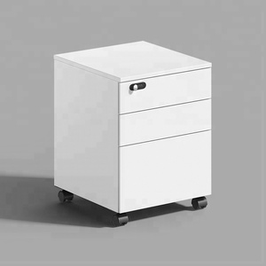 Factory price 3 drawer file cabinet digital lock filing cabinet movable file cabinet