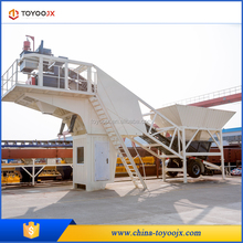 YHZS transfer convenience Mobile Concrete batching plant