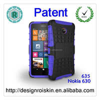 New shockproof robot hybrid combo smart phone cover case for Nokia 635