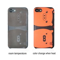 Hot Selling Thermal Induction Color Changing PC Phone Case For Samsung Galaxy Note 8