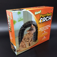 Soft Bed Perfect Arch Brush Massager for Cats Pet